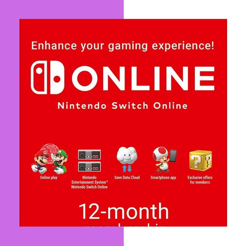 「最安全/最低價」 ns switch online 會員申請資格一年份 (家庭)