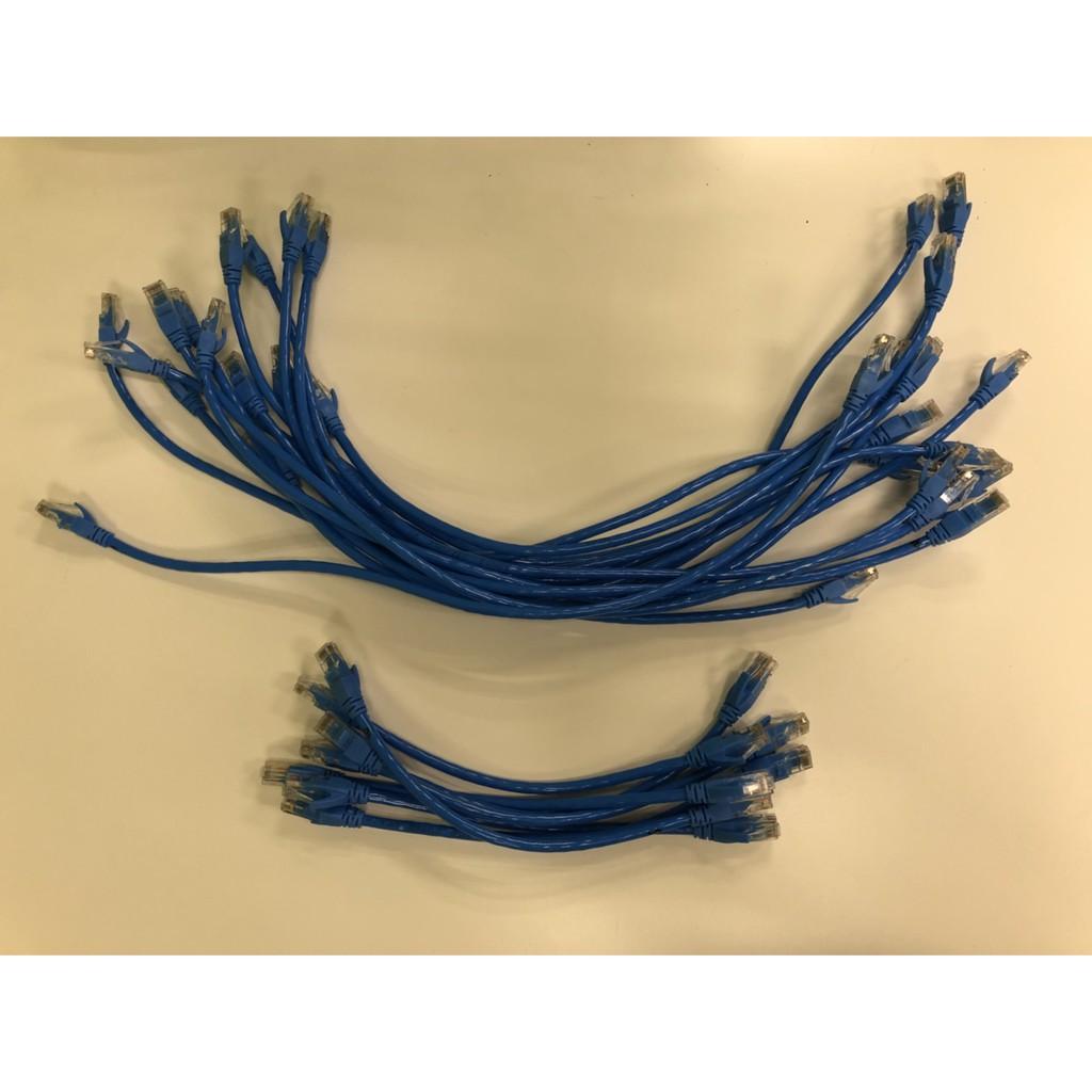 以太網藍色CAT5  網路線 0.5米 0.25米 1米 1.5米