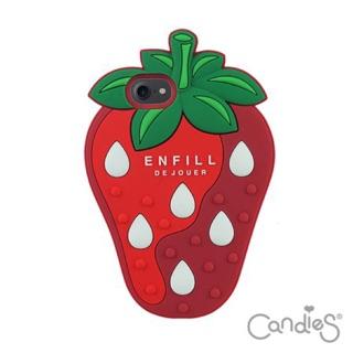 Candies 立體草莓手機殼(紅) iPhone 7 4.7吋 桃園市