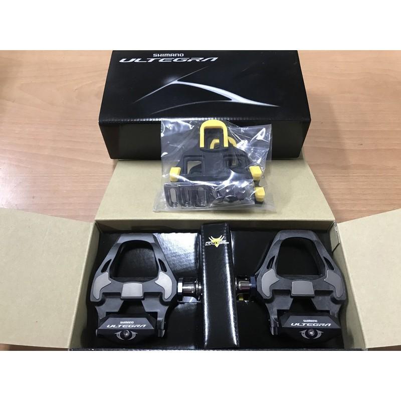 火雞二輪 盒裝公司貨Shimano Ultegra R8000 PD-R8000 SPD-SL碳纖維卡踏板 附鞋底板扣片