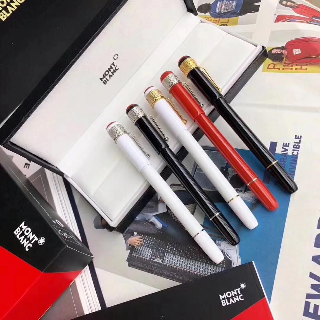 Montblanc 萬寶龍 筆新款蜘蛛筆 簽字筆 原子筆 寶珠筆'鋼筆送專櫃禮盒 傳承系列萬寶龍週年紀念版