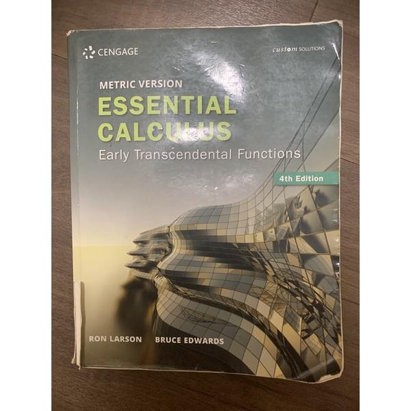 微積分 essential calculus 4th