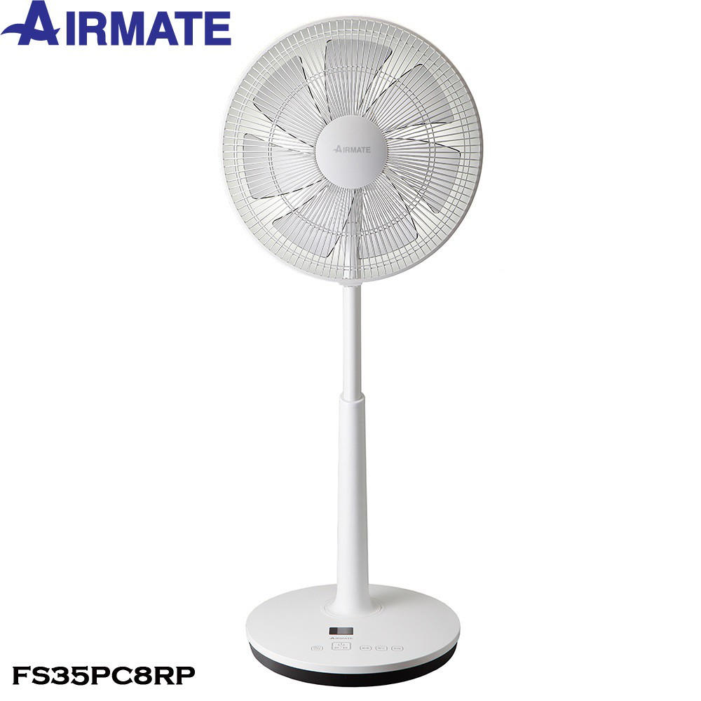AIRMATE艾美特 FS35PC8RP/DC馬達APP智慧遙控立扇 /14吋(免運)現貨