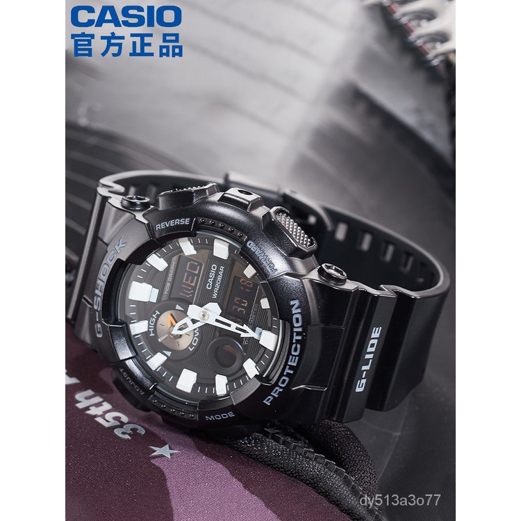 DoQx GAX-100B-1A黑武士運動手錶男g shock黑暗之心限量黑金日韓腕錶新品速遞