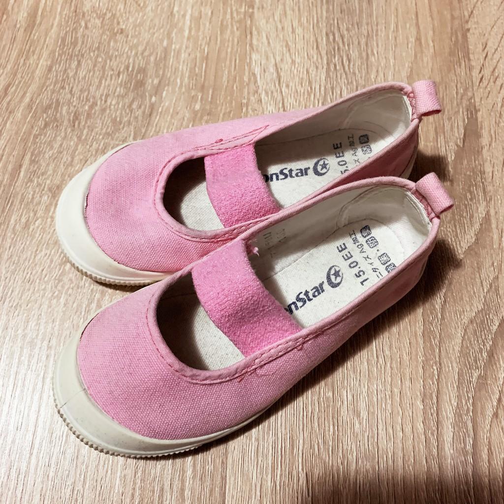 MoonStar粉紅室內鞋15cm