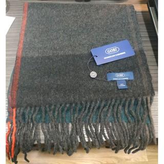 Gobi 100%cashmere喀什米爾羊毛圍巾~我來去蒙古一下 高雄市