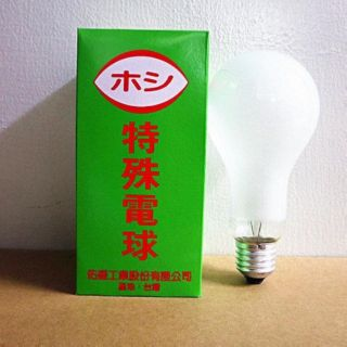 250W 鵭絲燈泡 磨砂燈泡 120V 壽命長 台灣製  -【便利網】 桃園市