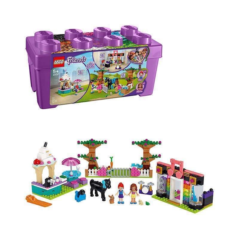 【正品積木】兼容樂高 lego【保稅發貨】LEGO/樂高 好朋友系列 心湖城積木盒  41431