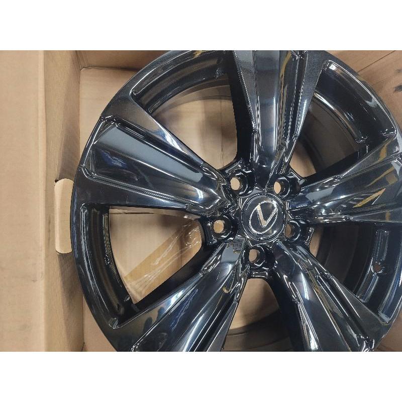 Lexus 18吋Ux特仕版鋼琴亮面黑鋁圈,UX、NX、ES、IS、Rav4、chr、camry、cross以上車系通用