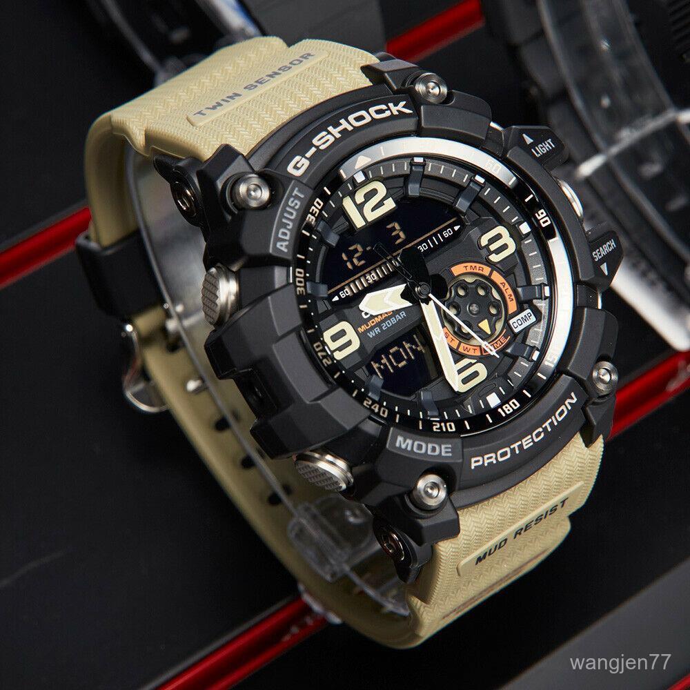 ⌚⌚CASIO 卡西歐GG 1000 1A5 MASTER OF G MUDMASTER男士手錶