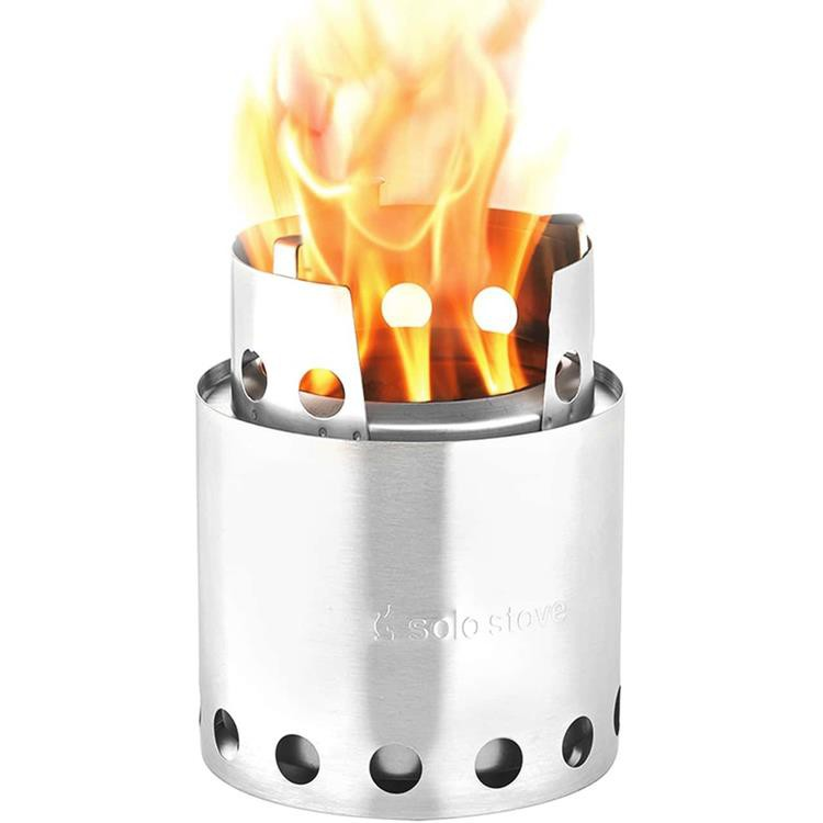 Solo Stove 不鏽鋼輕量火箭爐 小/輕量柴爐/燒烤暖爐/迷你焚火台 LITE SS1