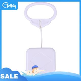 Getfriy 拉線音樂盒白色嬰兒嬰兒兒童床鈴搖鈴玩具禮物