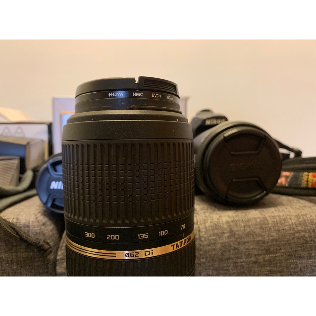 🌟【白舍- 二手】TAMRON 70-300mm for N 九成新.含保護鏡,盒單全