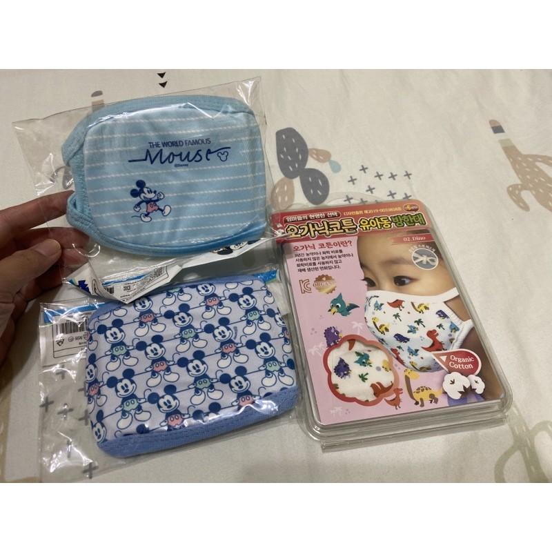 兒童韓國棉布口罩全新