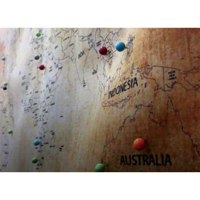 🚩Travel Map🚩客製世界地圖壁幔 多款可選 旅遊地圖 客製姓名地圖 掛毯 附定位珠