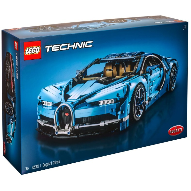 免運 全新現貨 樂高 科技系列 42083 布加迪 LEGO Bugatti 山豬 跑車 超跑 42115 42056