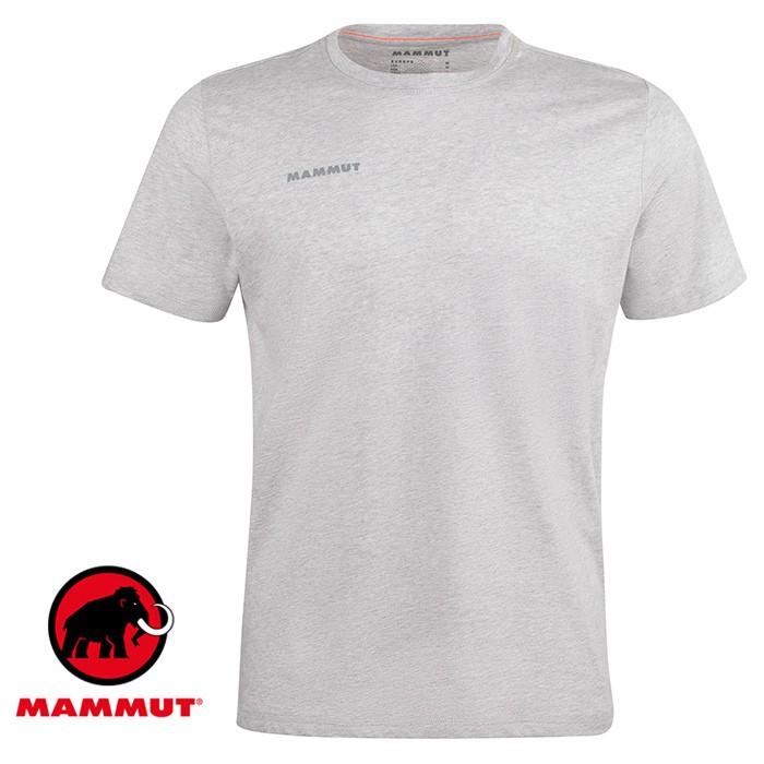 【Mammut 長毛象 瑞士】Sloper 短袖T恤 運動上衣 男款 公路灰 (00992-0401)