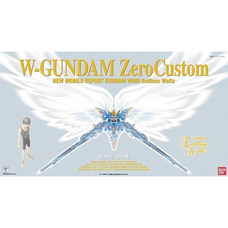 【模型屋】現貨 BANDAI 鋼彈W PG 1/60 WING GUNDAM ZERO CUSTOM 飛翼零式 天使鋼彈
