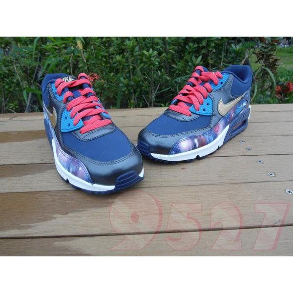 Nike Air Max 90 PREM LTR Black Green Camo 724879 003 Boys 4 Youth Shoes Sneakers | eBay
