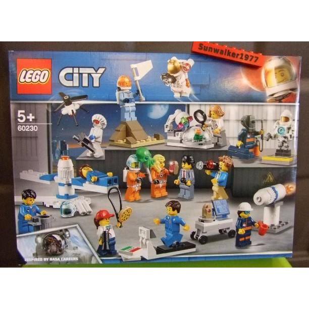 【積木2010】樂高Lego-全新未拆 60230 太空人與太空研究 人偶盒組 (CITY城市系列)