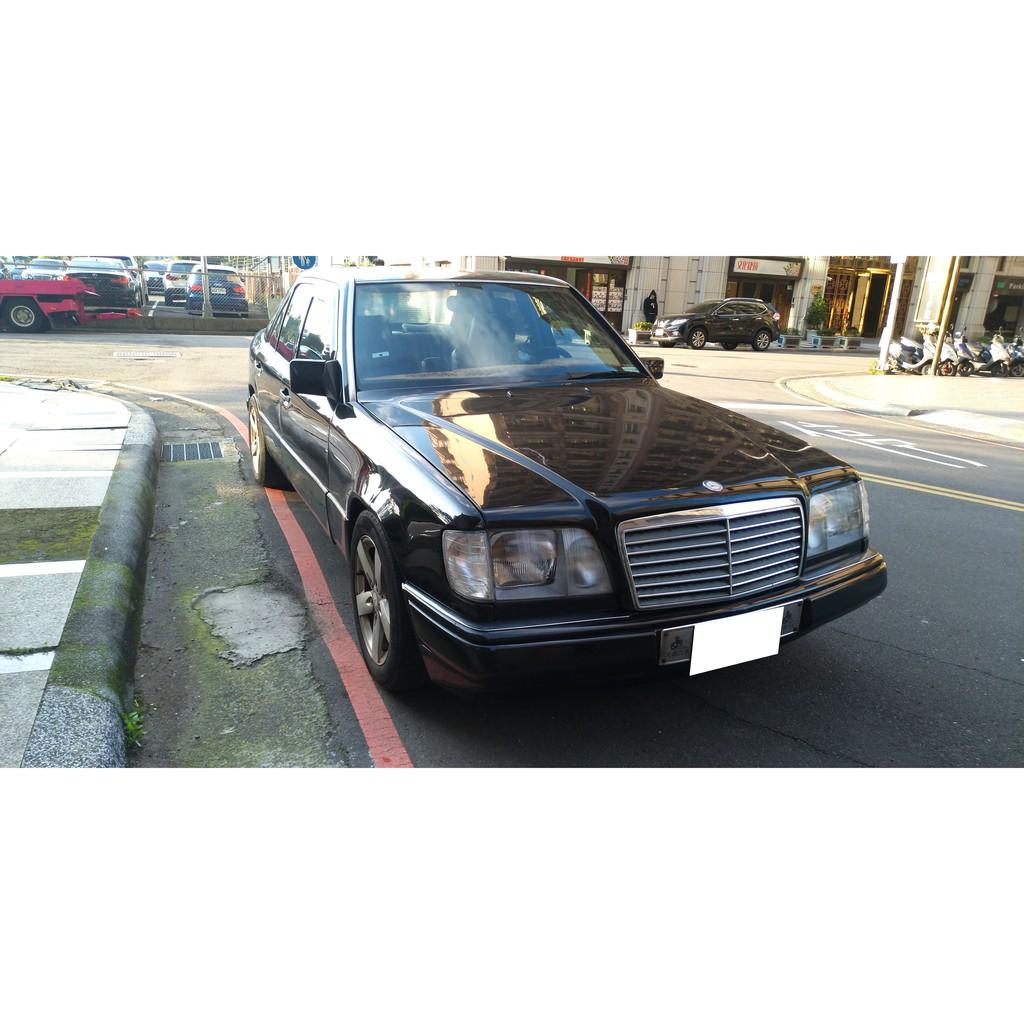 1993 賓士 Benz E220 黑色 轎車 經典老車 W124 收藏玩家別錯過 超低里程 ~ 中古車 二手車
