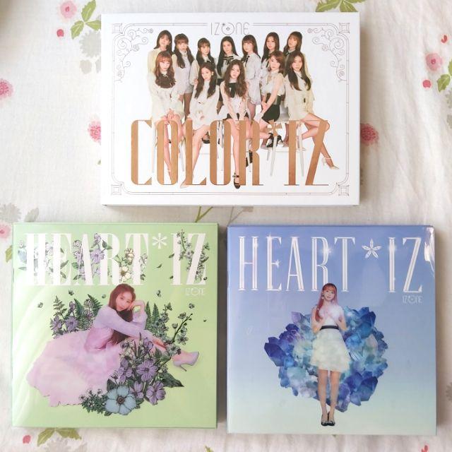 IZ*ONE IZONE HEART*IZ 空專 (只剩綠版)