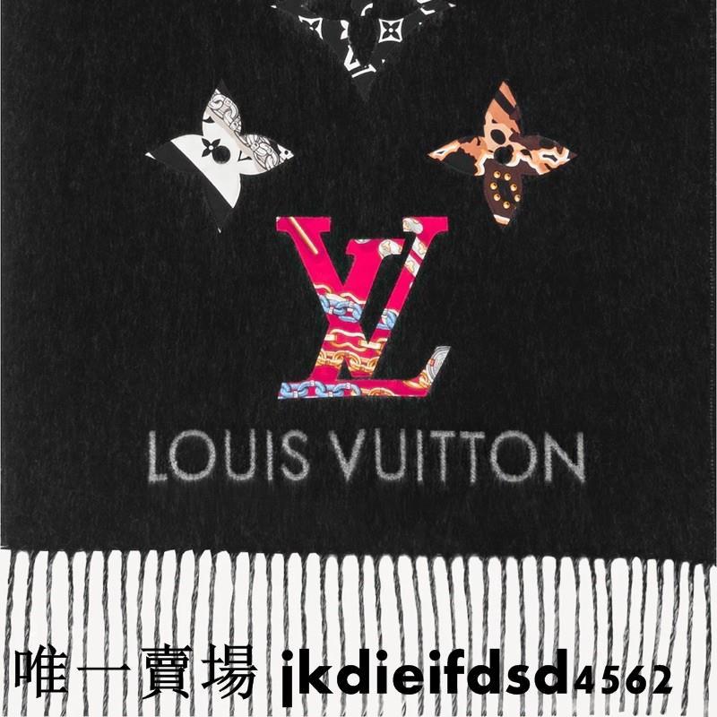 Louis Vuitton LV BE MINDFUL REYKJAVIK 山羊絨 圍巾 M76160*