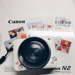 (可議)白Canon power shot n2 自拍粉餅機