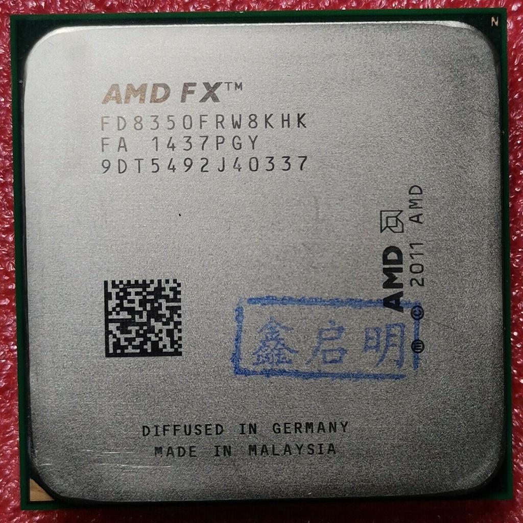 【24小時發貨】100% 正品 AMD 系列 FX-8150 FX-8300 FX-8320 FX-8350 AM3 +