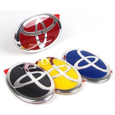 【TOYOTA】豐田Altis/RAV4/Yaris/Camry/PRADO/C-HR 前/後車標  3D水晶車標誌貼