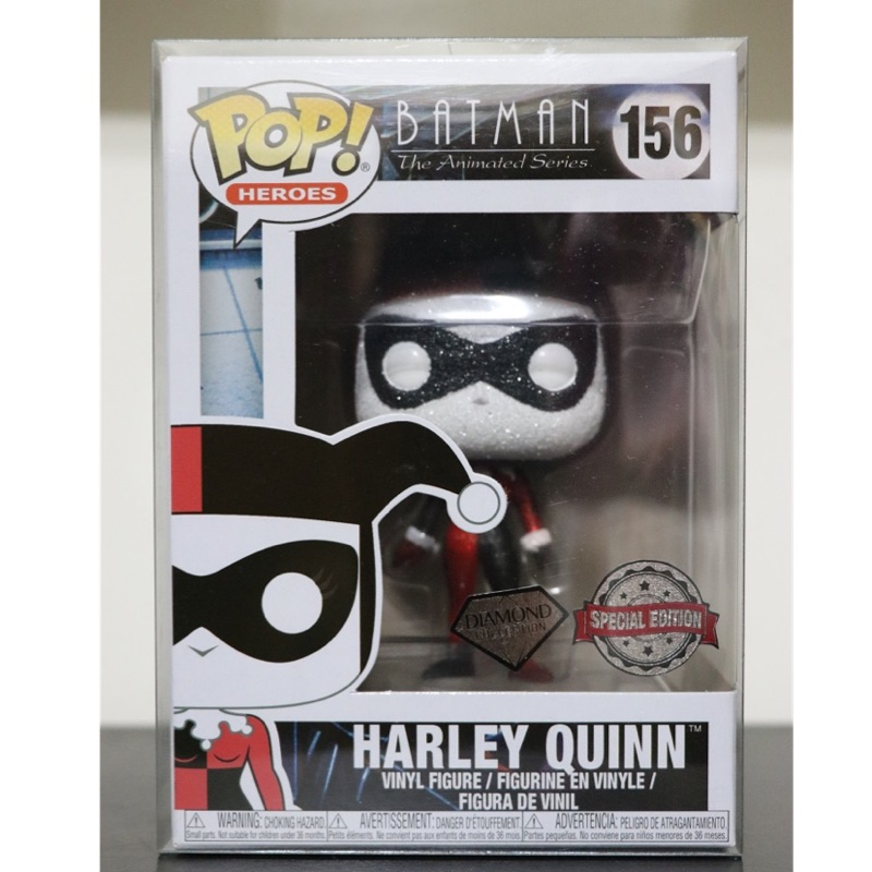 Funko pop-DC Batman Harley Quinn小丑女「鑽石版」