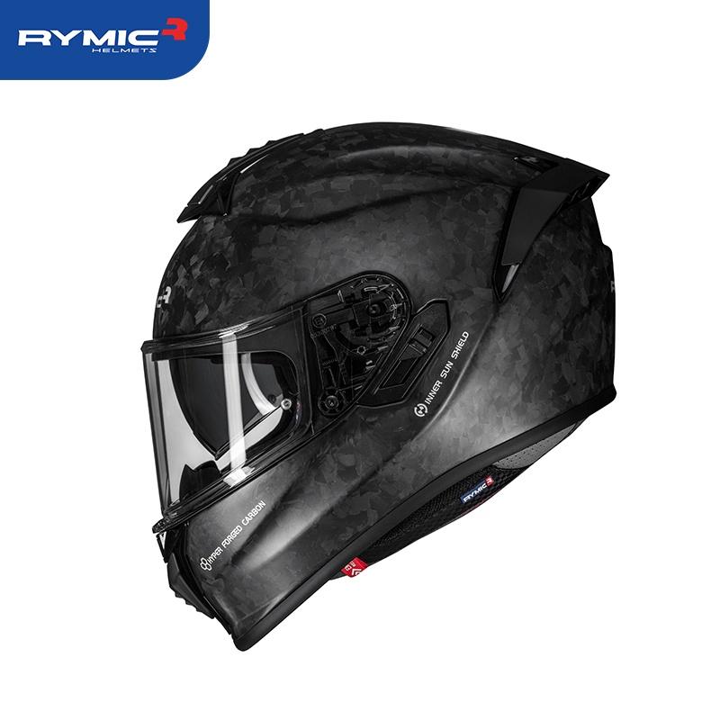 全罩式安全帽 碳纖 RYMIC S-GT可拆洗 耳機槽 安全帽 雙鏡片