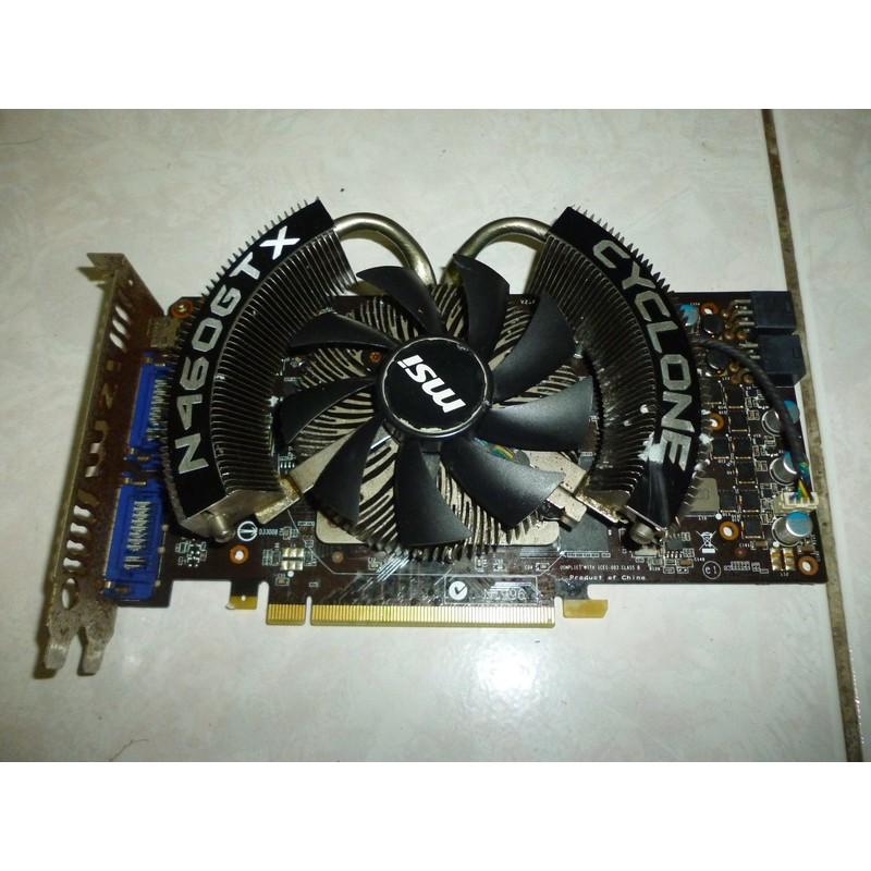 MSI微星 N460GTX CYCLONE 1GD5/OC/R9 280X GTX560 GTX750Ti