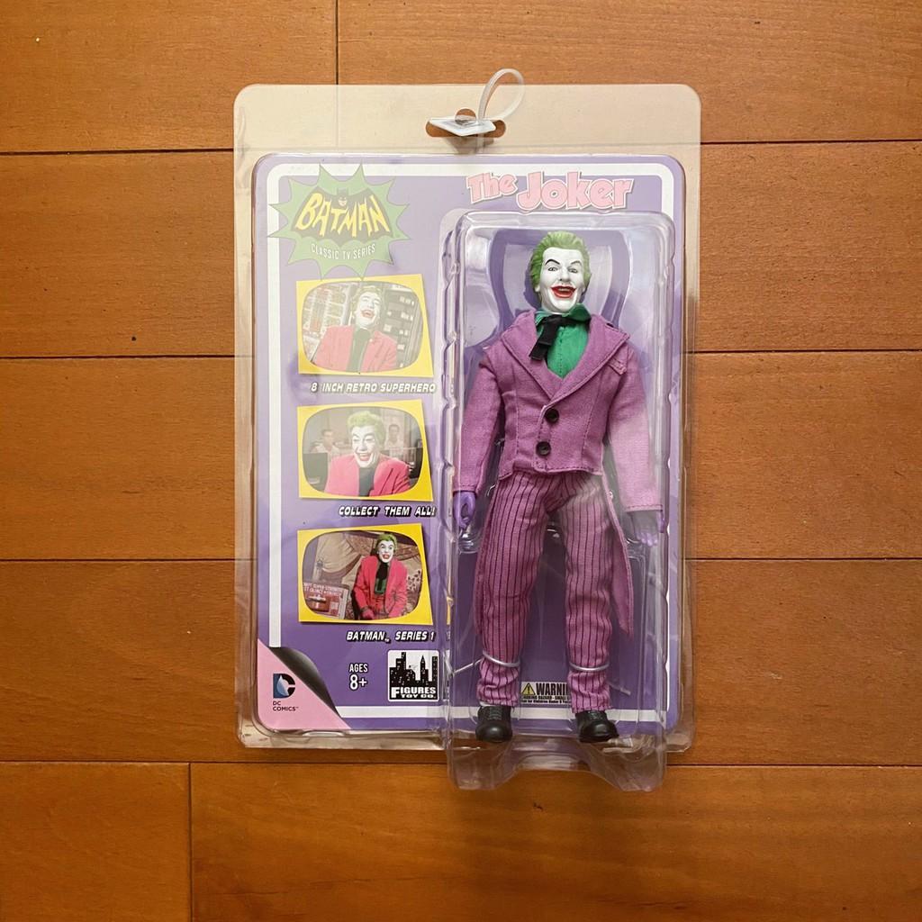 Figures toy DC Batman TV 1966 8吋 小丑 joker 可動 復古 公仔 吊卡 玩具 🇺🇸