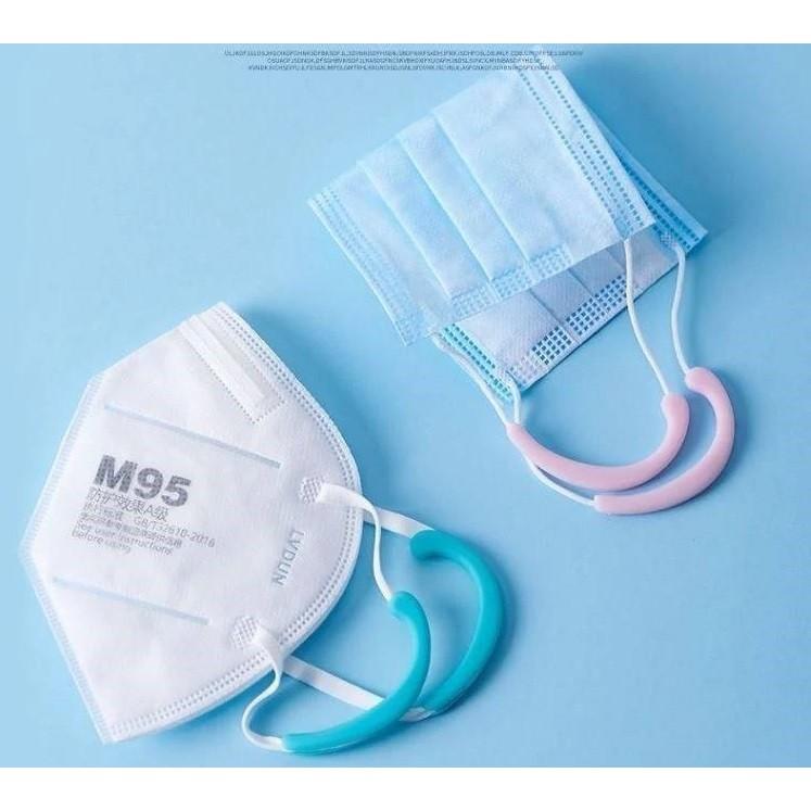 耳朵不痛神器 醫療級矽膠 口罩護耳器  口罩減壓護套 成人小孩適用 【Nap Tainan 】
