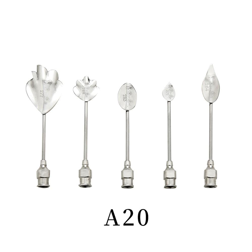 優果《越南進口不鏽鋼果凍花針A20》每組內含5支針