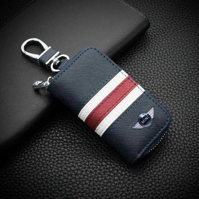 現貨 Mini Cooper 優質皮鑰匙皮套 鑰匙包 鑰匙皮套 真皮鑰匙套 鑰匙圈 Mini Cooper