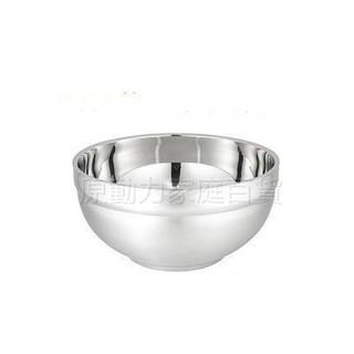 【原動力家庭百貨】  11公分 不鏽鋼隔熱碗  【現貨】 白鐵碗 不鏽鋼碗 兒童碗 飯碗 隔熱碗 臺南市
