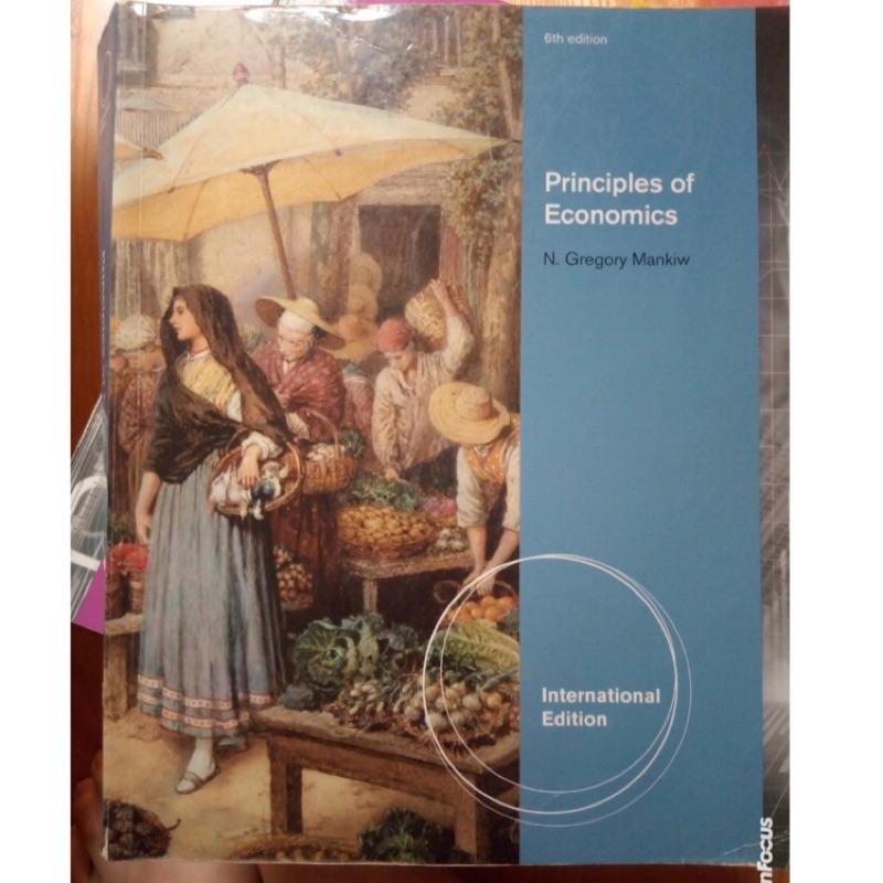 Principles of economics (6版)