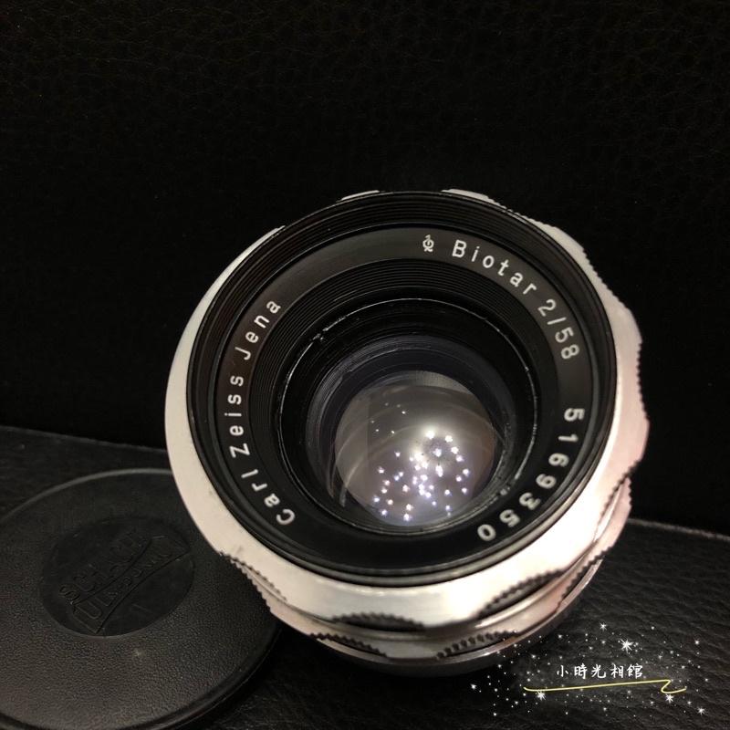 限時特賣 東蔡銘鏡Carl Zeiss Jena Biotar 58mm f2 M42接口