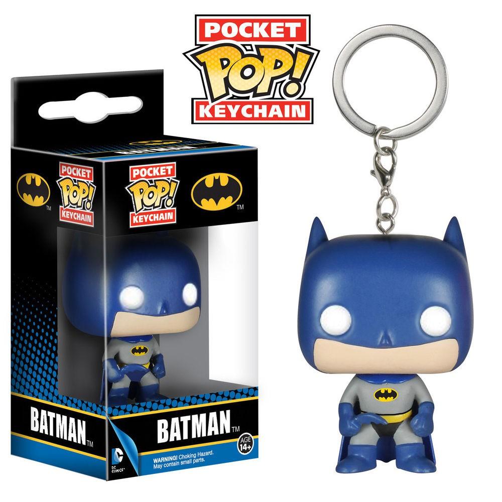 DC正義聯盟蝙蝠俠 BATMAN周邊FUNKO POP 大頭公仔掛件掛飾鑰匙扣