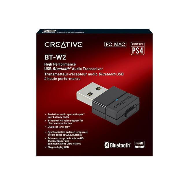 【二手商品】CREATIVE BT-W2 藍牙音效發射器 接收器 藍芽 PC PS4 SWITCH NS MAC