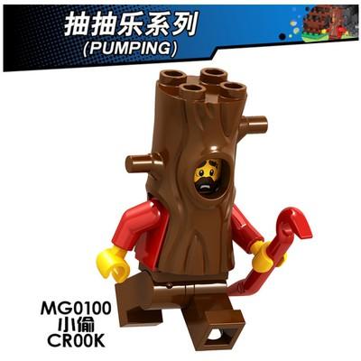 磚塊積木-100小偷城市系列相容LEGO 非樂高60174