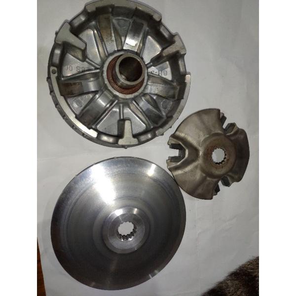 隨便賣 YAMAHA山葉原廠 主滑動槽輪整體 三代 新勁戰 普利盤 傳動前組 料號:28S