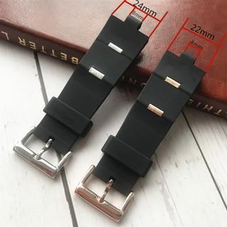 【工廠直銷】寶格麗BVLGAR橡膠手錶帶凸口8mm DP42C14SVDGMT 男女錶鏈配件琪琪 高雄市