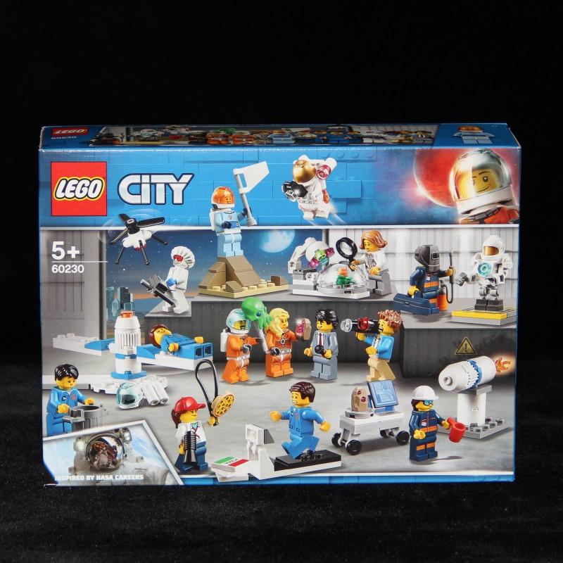 【夏拉朵朵代購】LEGO 樂高積木玩具 60230 城市CITY 太空研發人仔套裝