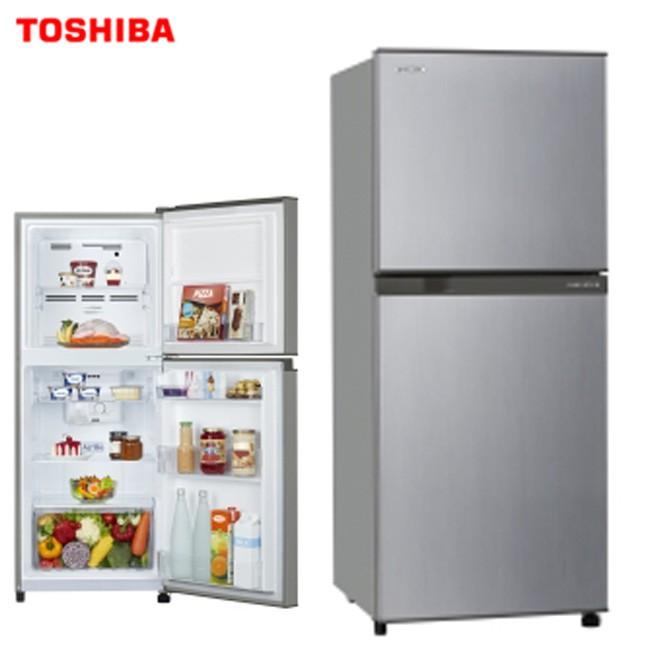 ♦贈不鏽鋼調味罐♦TOSHIBA  東芝 GR-A25TS 冰箱 2門 192L 變頻 雙層除臭 宿舍 民宿 一級能效