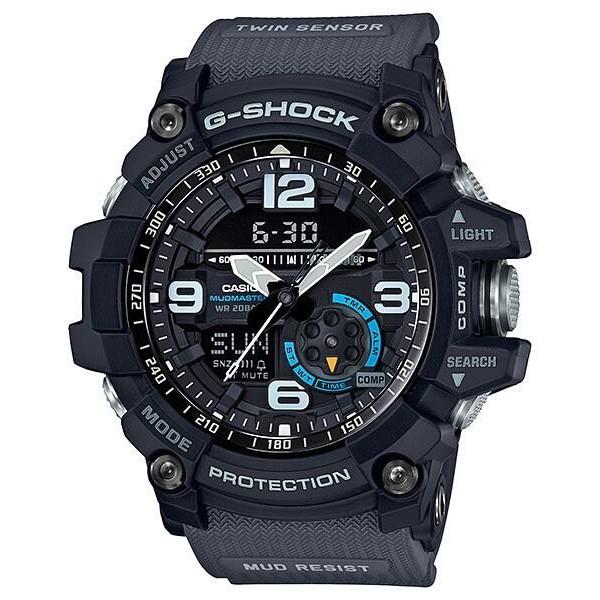 【歐買尬】CASIO卡西歐G-SHOCK 全方位防塵泥雙傳感器休閒運動錶(GG-1000-1A8 )