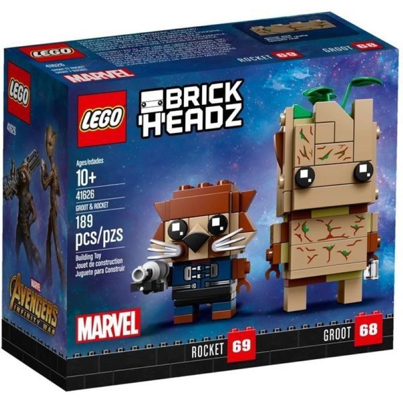 樂高LEGO 格魯特&火箭浣熊 Groot Rocket  玩具e哥41626
