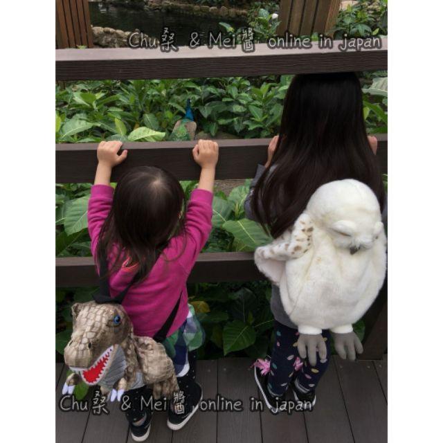 ✯啾桑日本代購✮ 日本超夯 擬真可愛立體恐龍背包 小男生超愛 後背包 背包 恐龍 造型背包 兒童背包 侏羅紀公園 暴龍